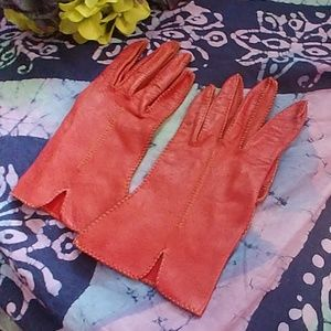 Vintage Women's Leather Gloves